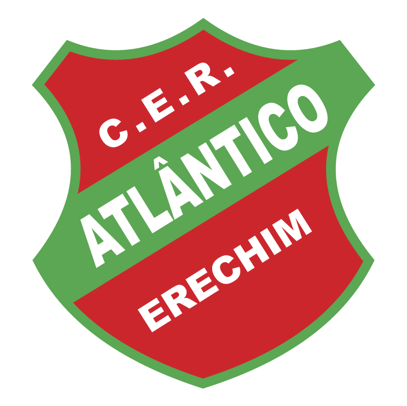 Clube Esportivo e Recreativo Atlantico de Erechim RS vector
