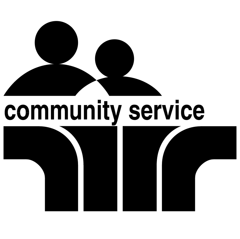 Community Service vector