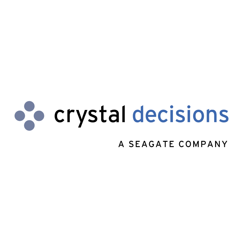 Crystal Decisions vector logo