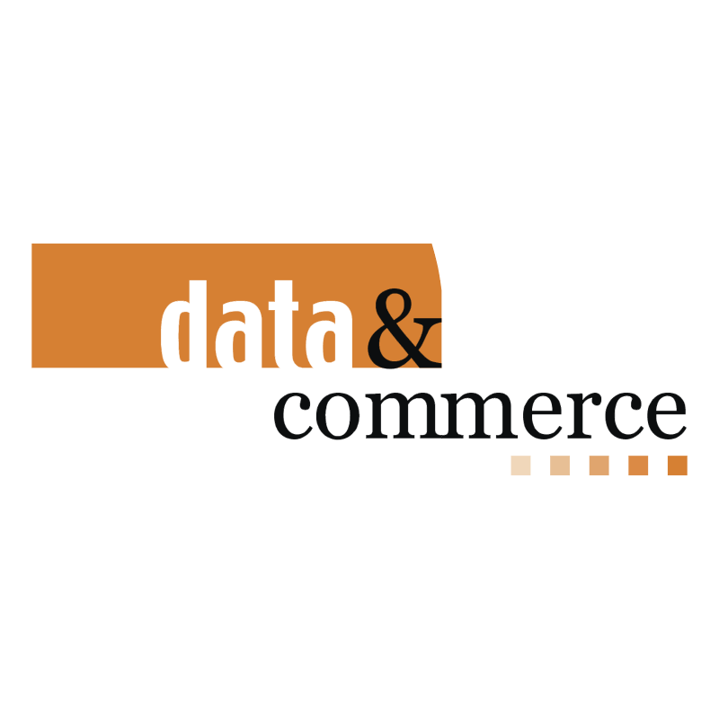 Data & Commerce vector