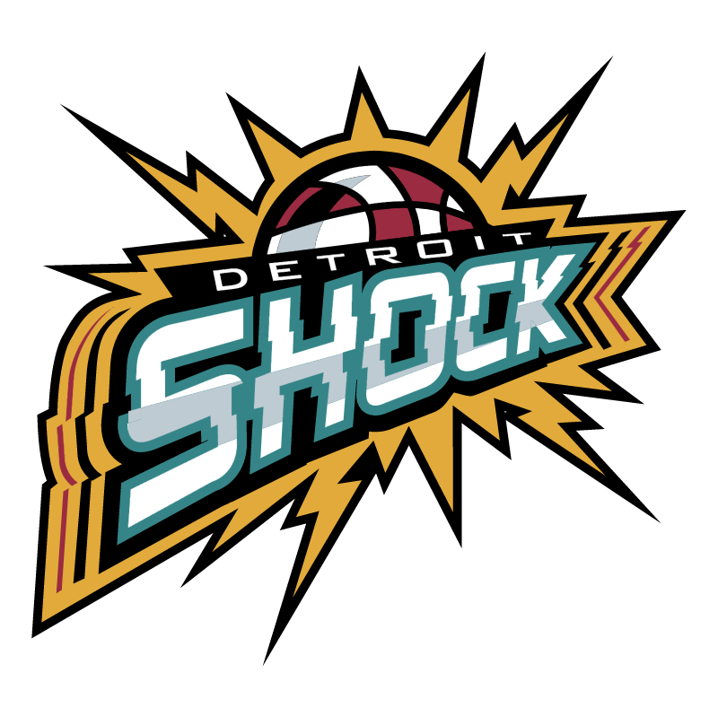 Detroit Shock vector logo