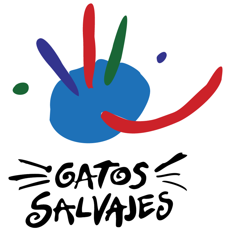 Gatos Salvajes vector