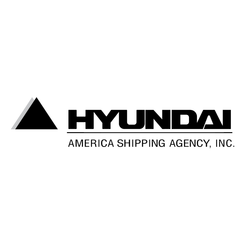 Hyundai America Shipping Agency vector