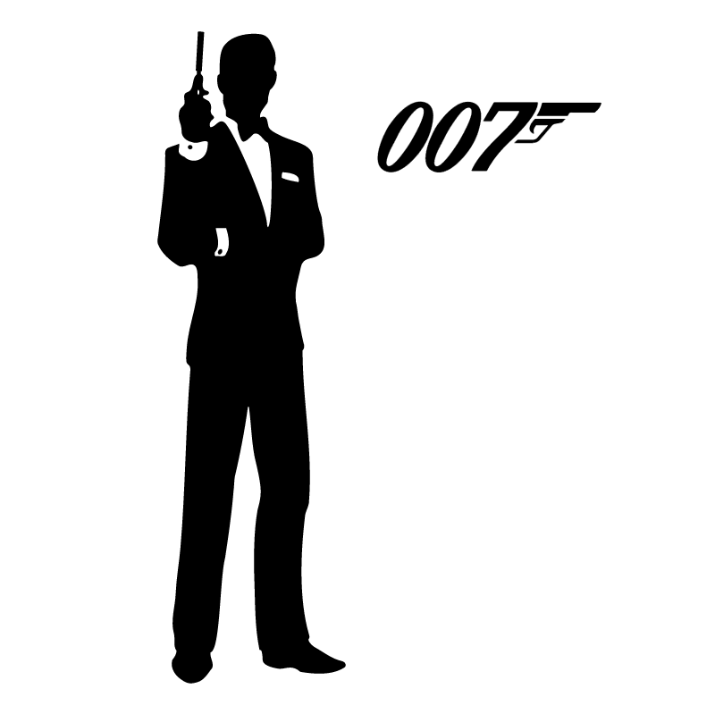 James Bond 007 vector