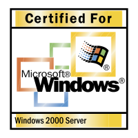 Microsoft Windows 2000 Server vector