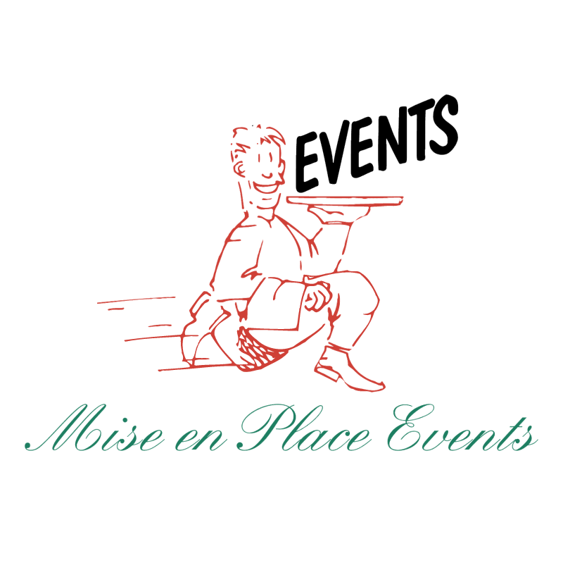 Mise en Place Events vector