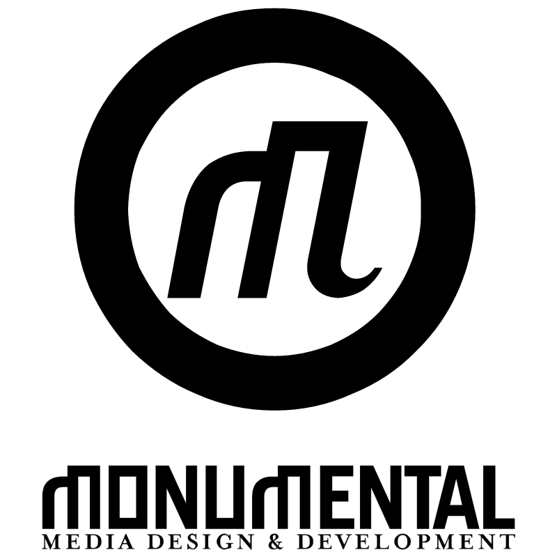 Monumental vector logo