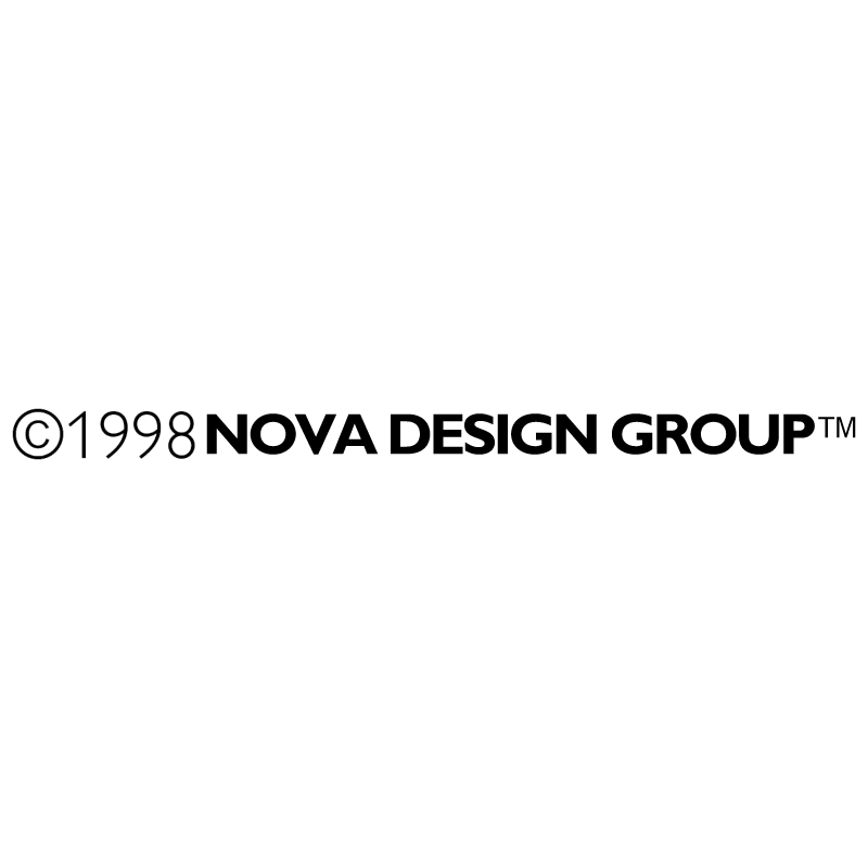 Nova Design Group vector