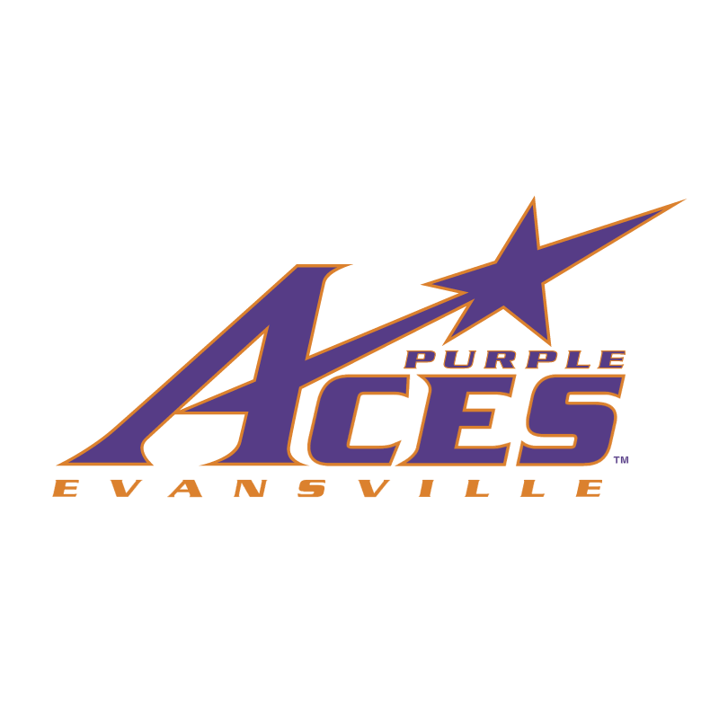 Purple Aces vector