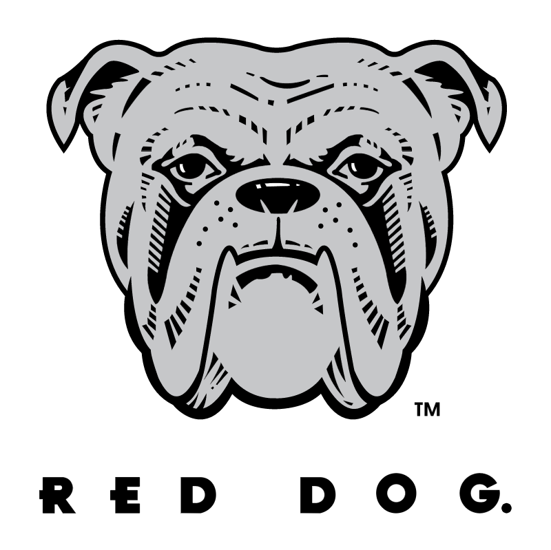 Red Dog vector