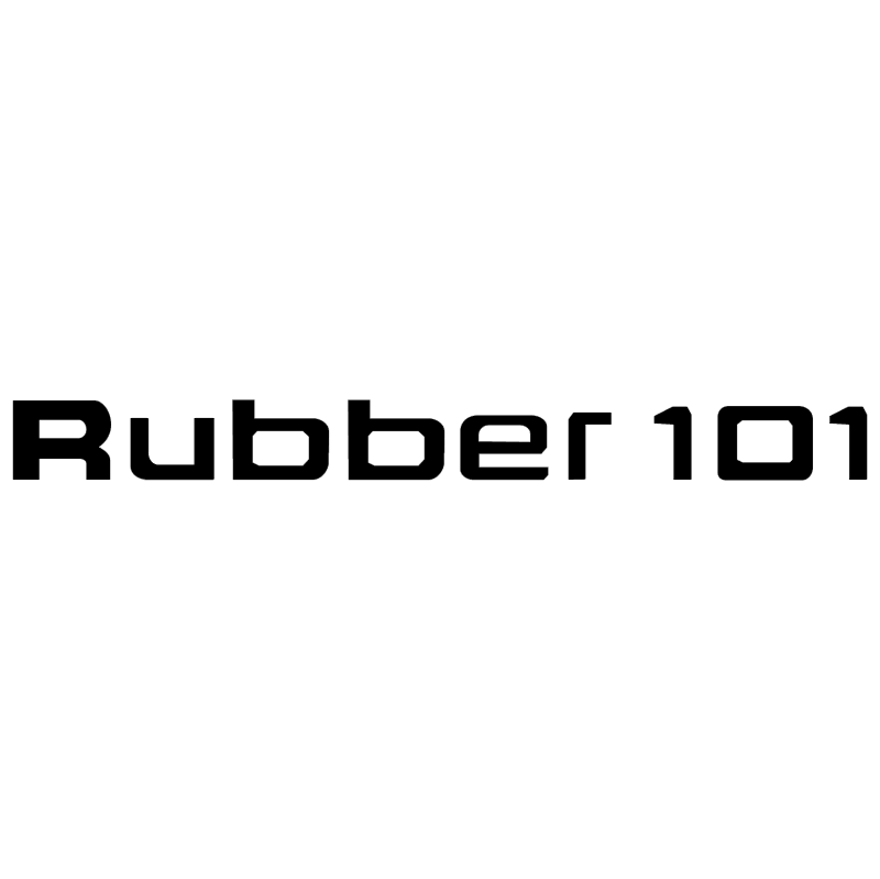 Rubber 101 vector