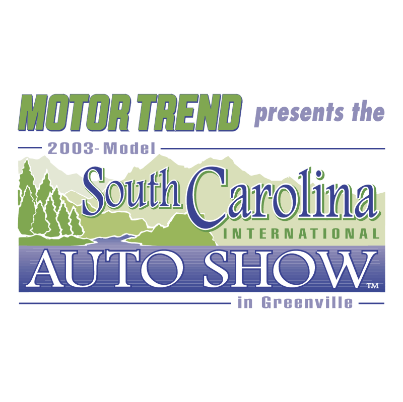 South Carolina International Auto Show vector