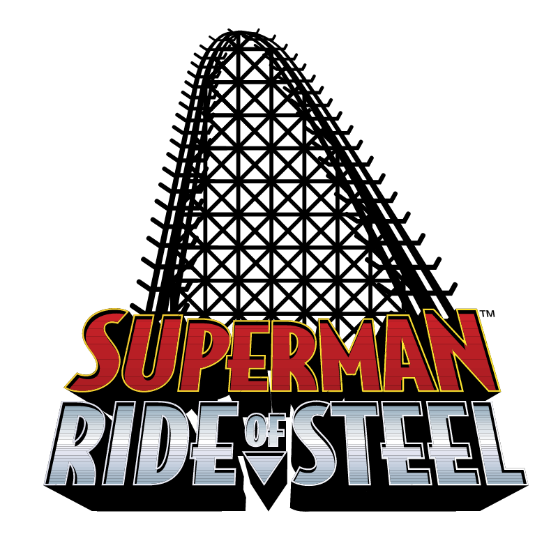 Superman Ride of Steel vector