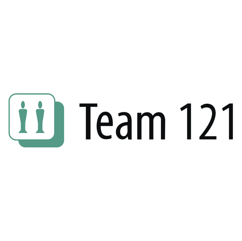 Team 121 vector logo