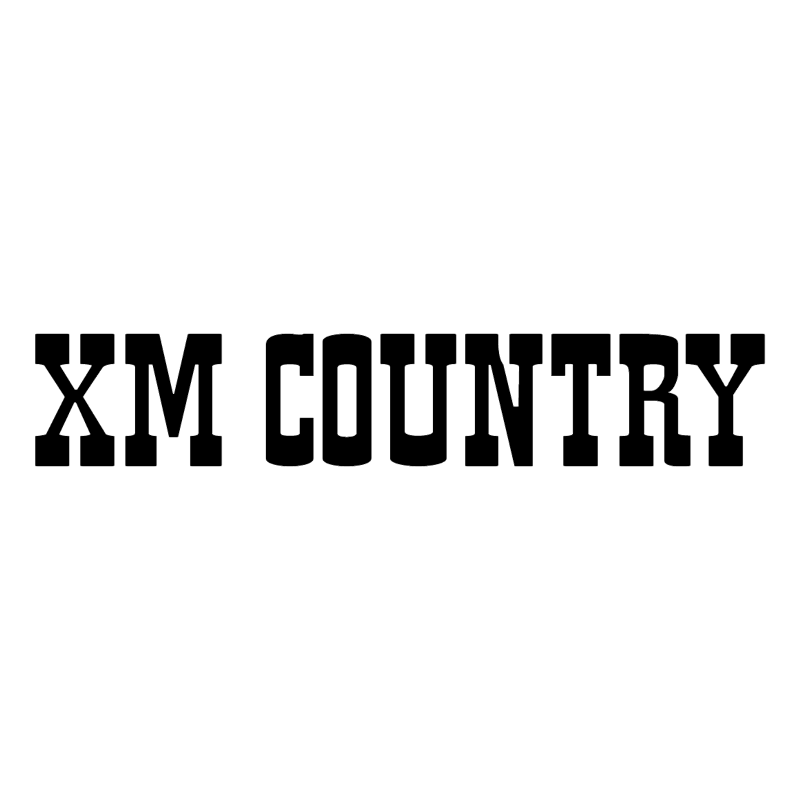 XM Country vector logo