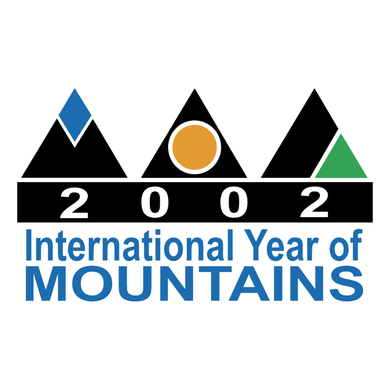2002 International Year of Mountains vector