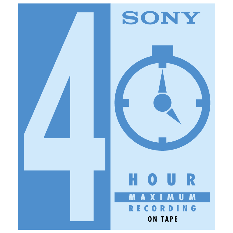 4 Hour Maximum Recording vector logo
