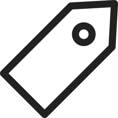 Inclined Tag vector logo