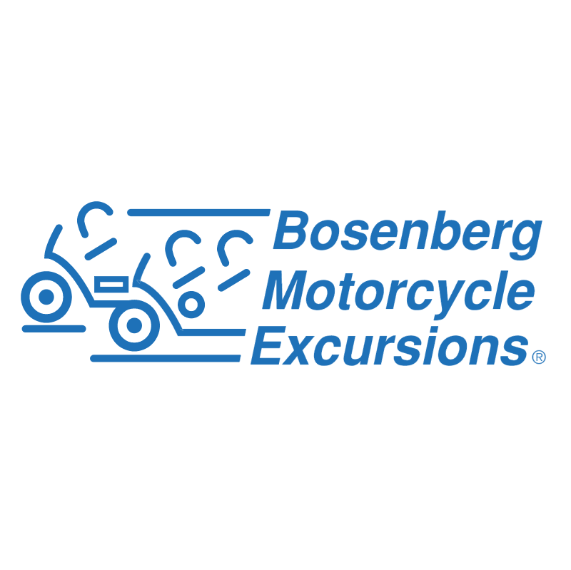 Bosenberg Motorcycle Excursions vector logo