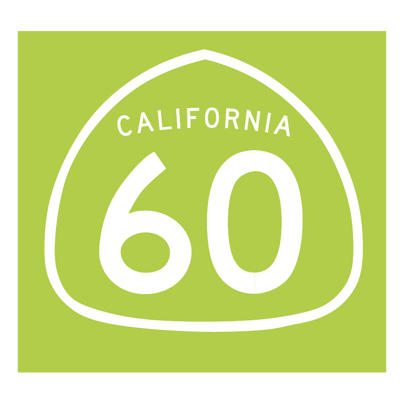 California 60 vector logo