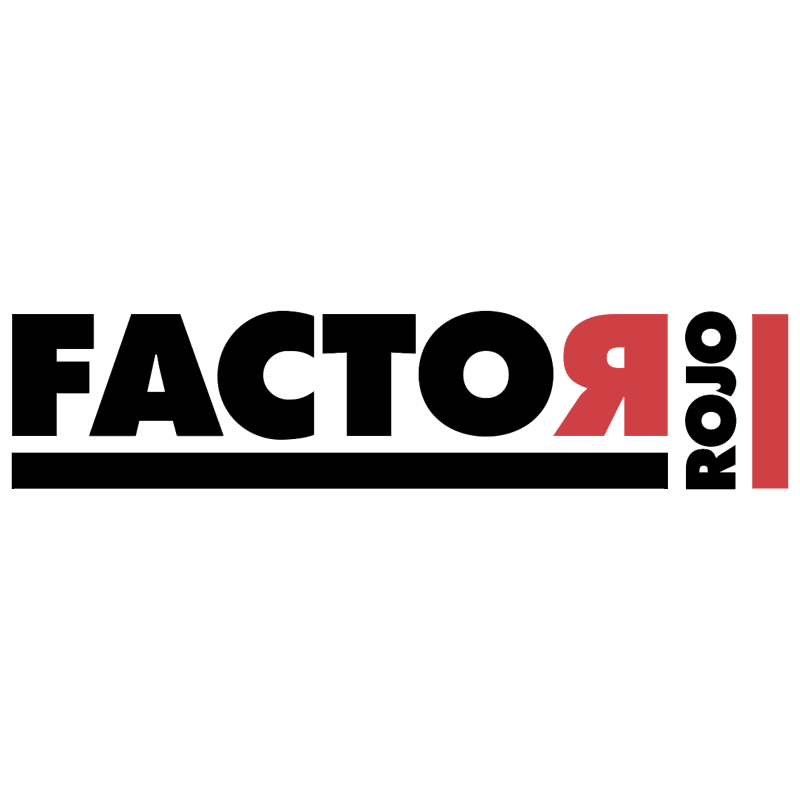 Factor Rojo vector