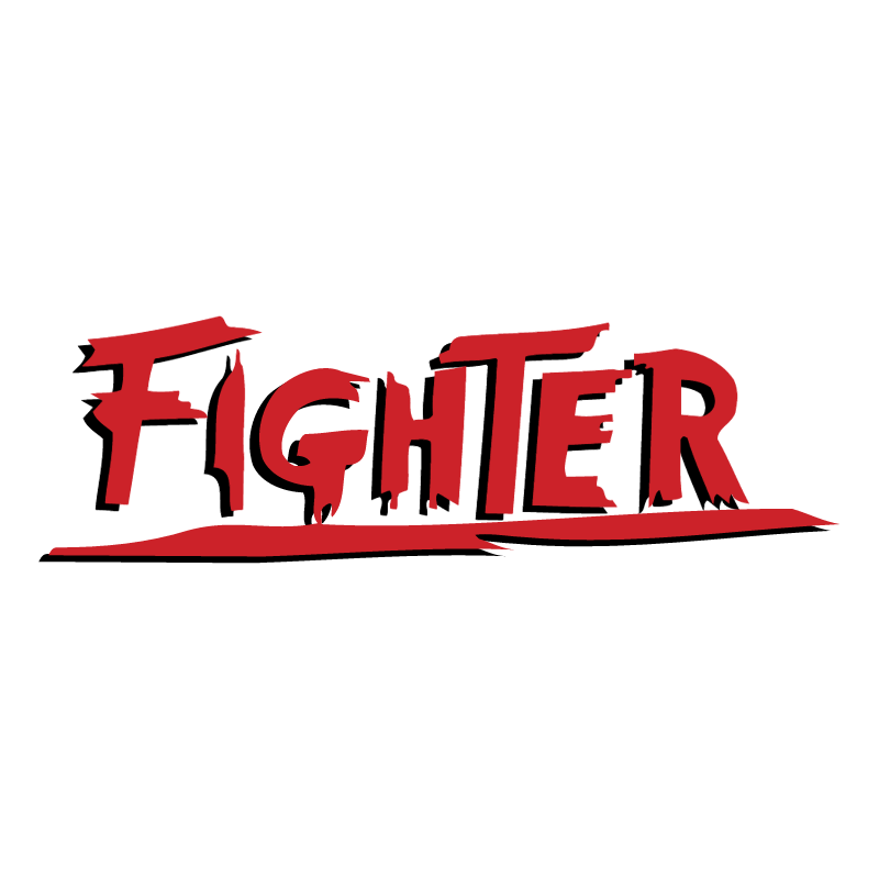 Fighter vector logo