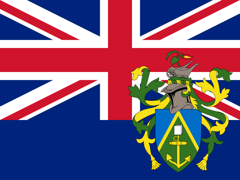 Flag of Pitcairn vector logo