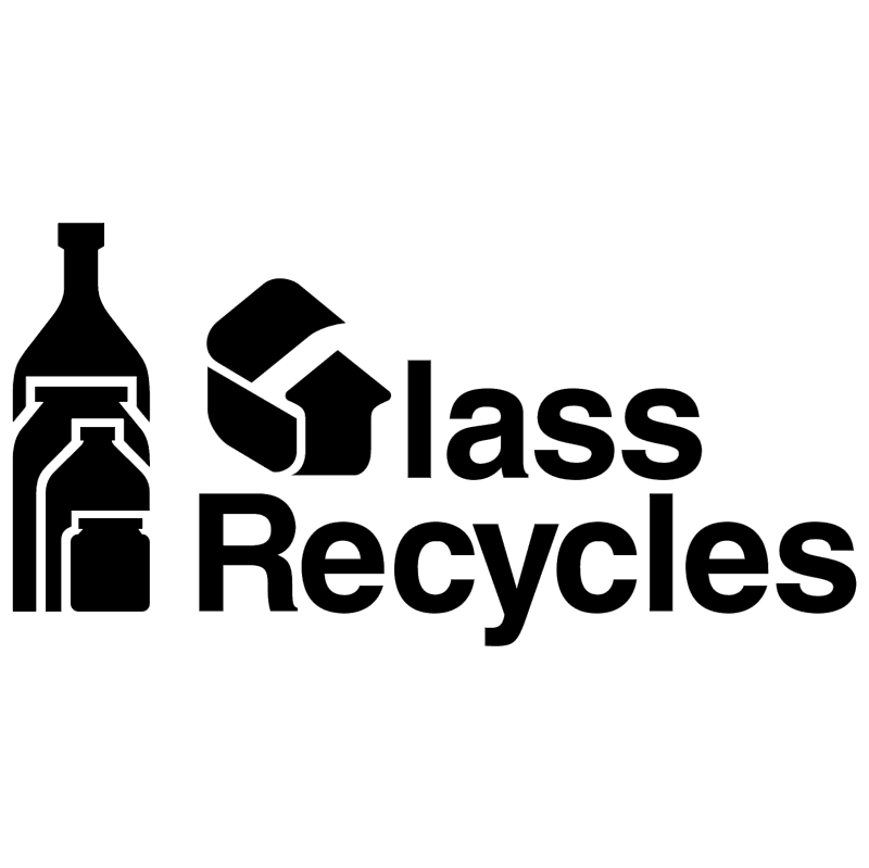 Glass Recycles vector