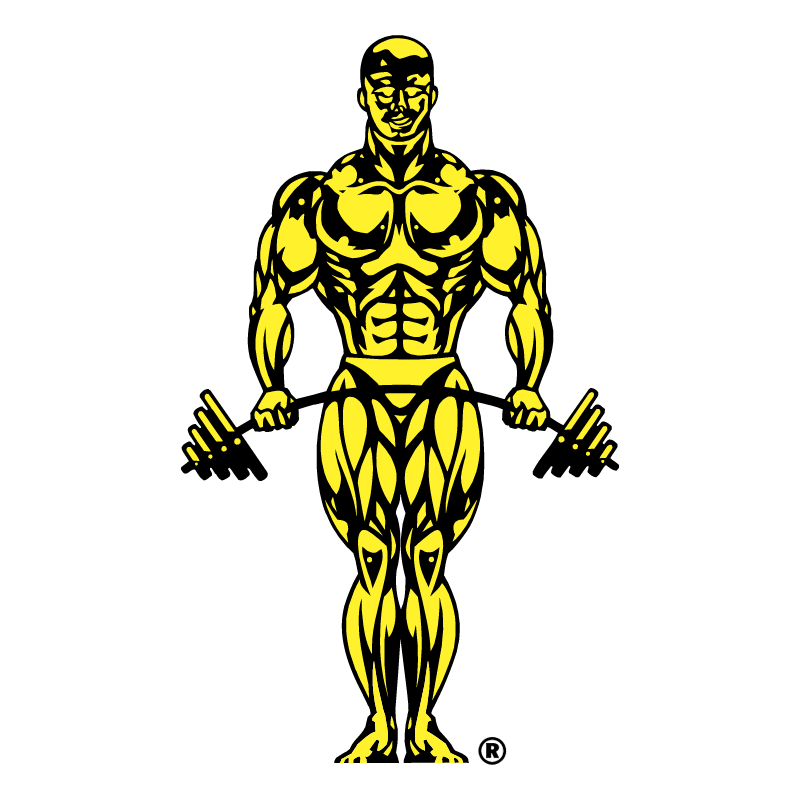 Gold's Gym vector