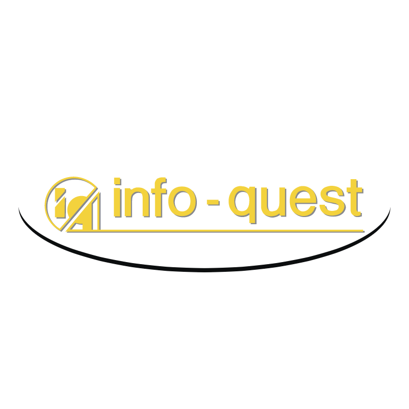 Info Quest vector logo