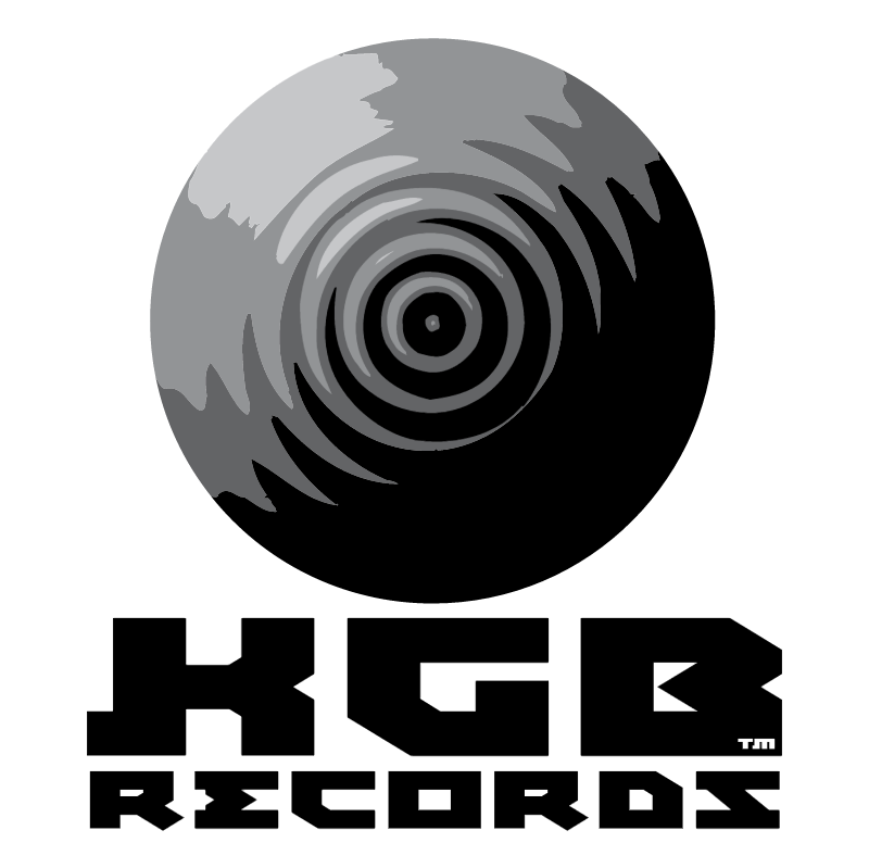 KGB Records vector logo
