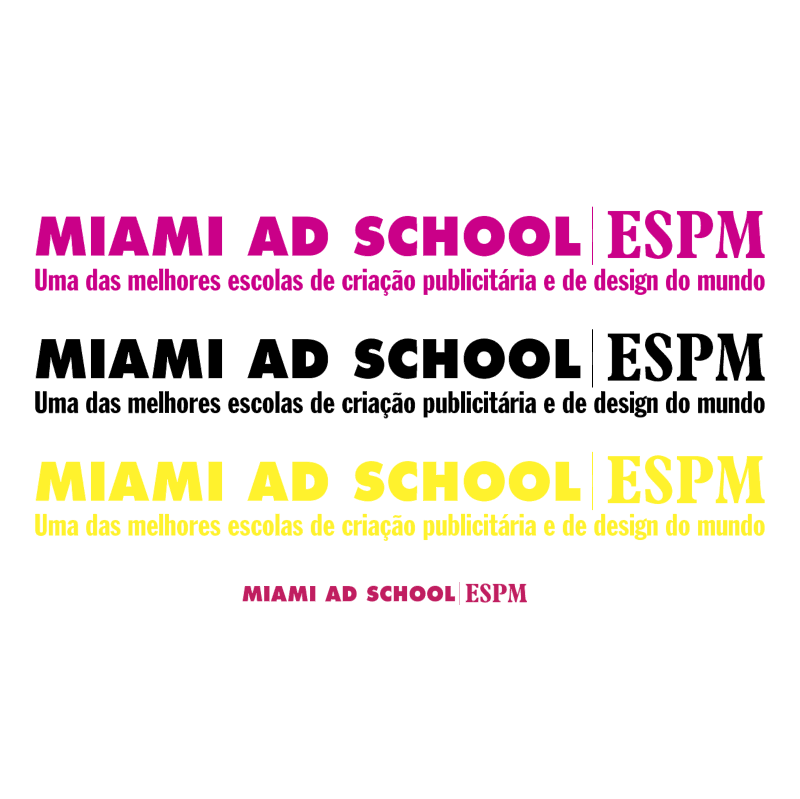 Miami Ad School ESPM vector