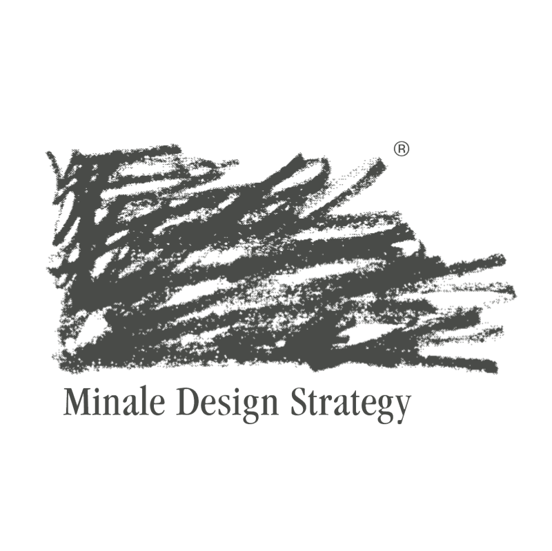 Minale Design Strategy vector logo