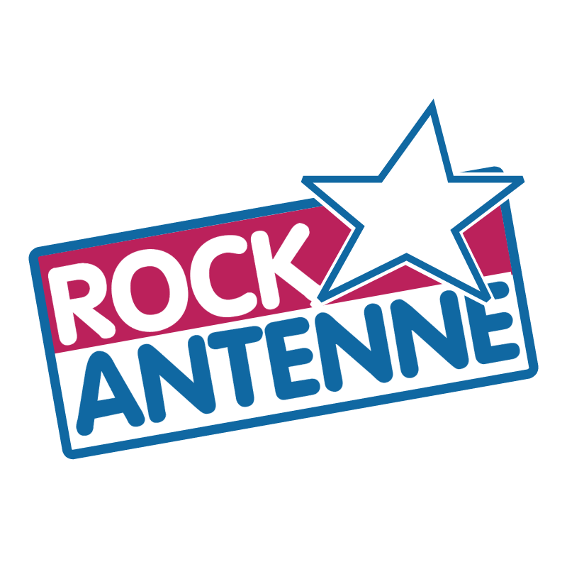 Rock Antenne vector logo