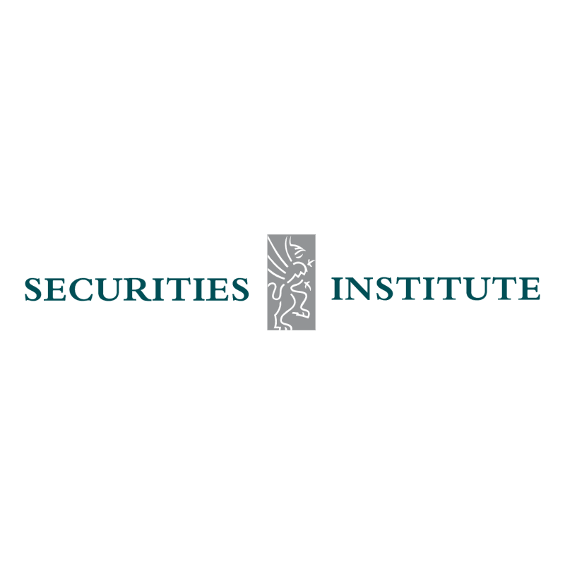 Securities Institute vector