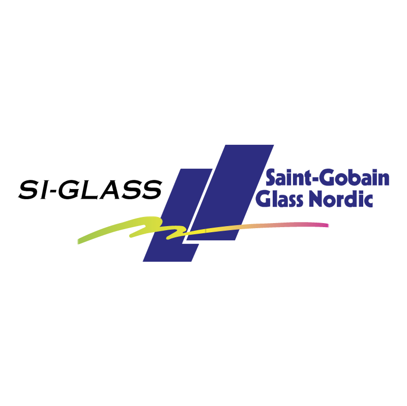 SI Glass vector logo