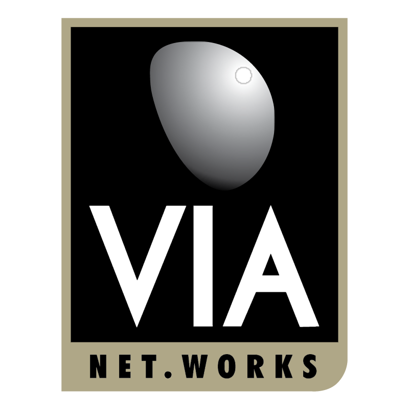 VIA NET WORKS vector
