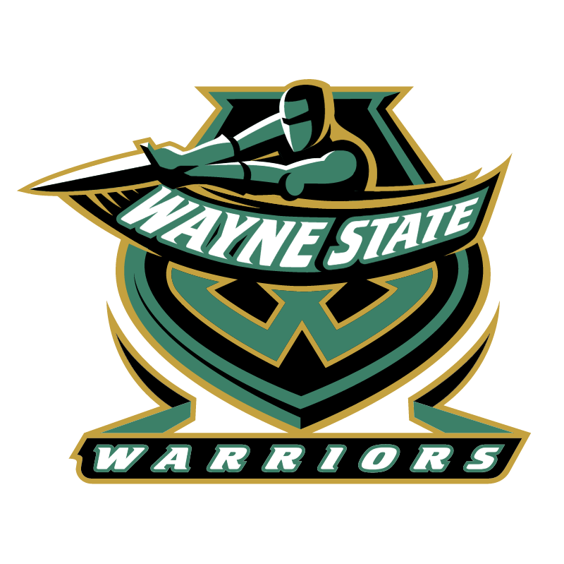Wayne State Warriors vector logo