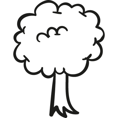 Park Tree vector logo