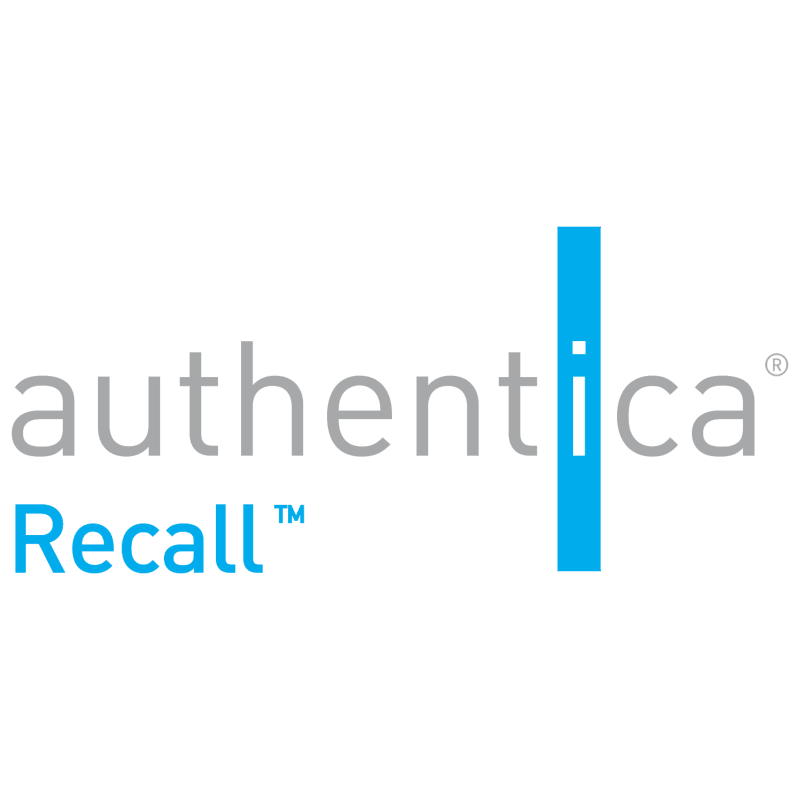 Authentica Recall 38898 vector