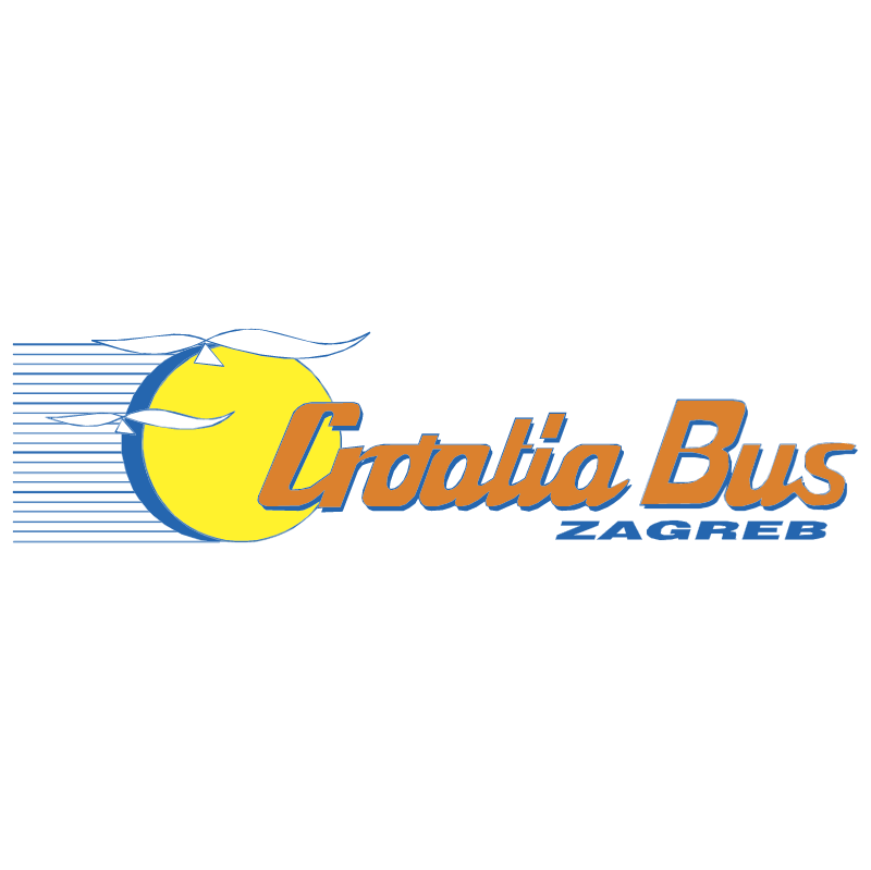 Croatia Bus vector logo