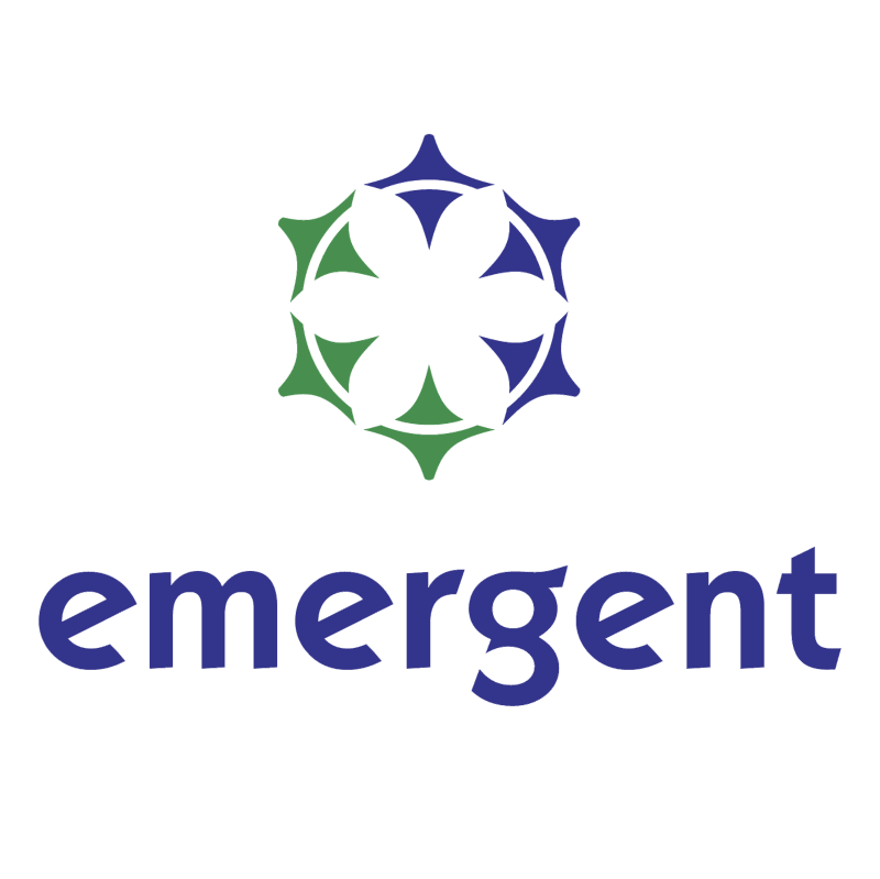 Emergent vector logo
