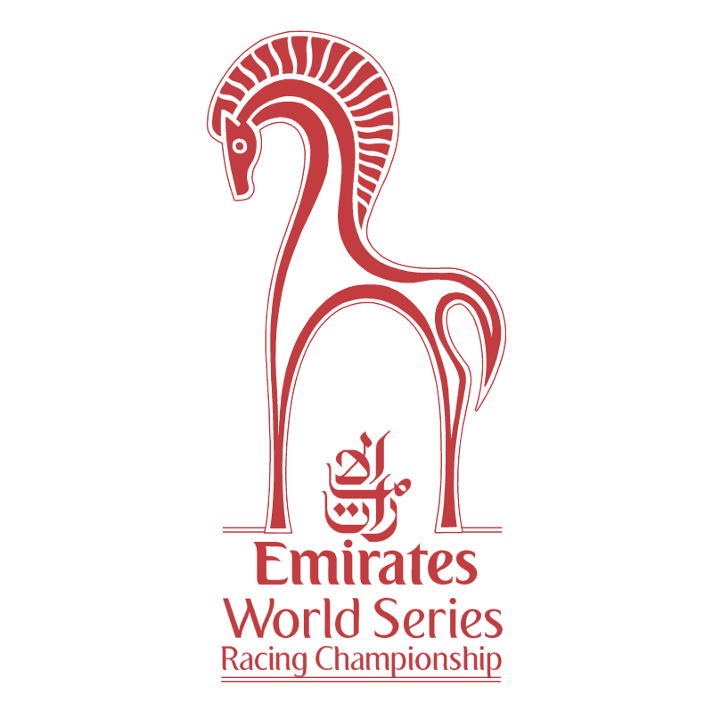 Emirates World Series Racing Championship vector logo