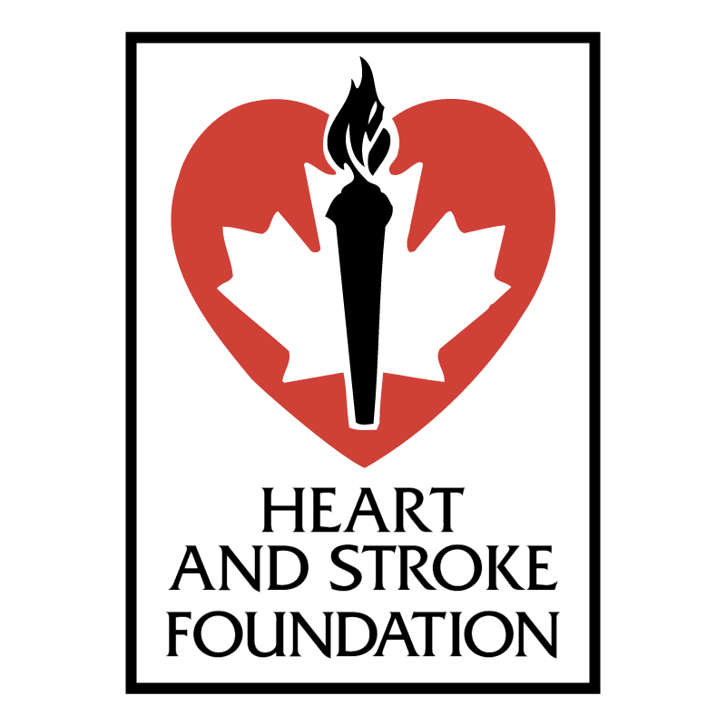Heart And Stroke Foundation vector logo