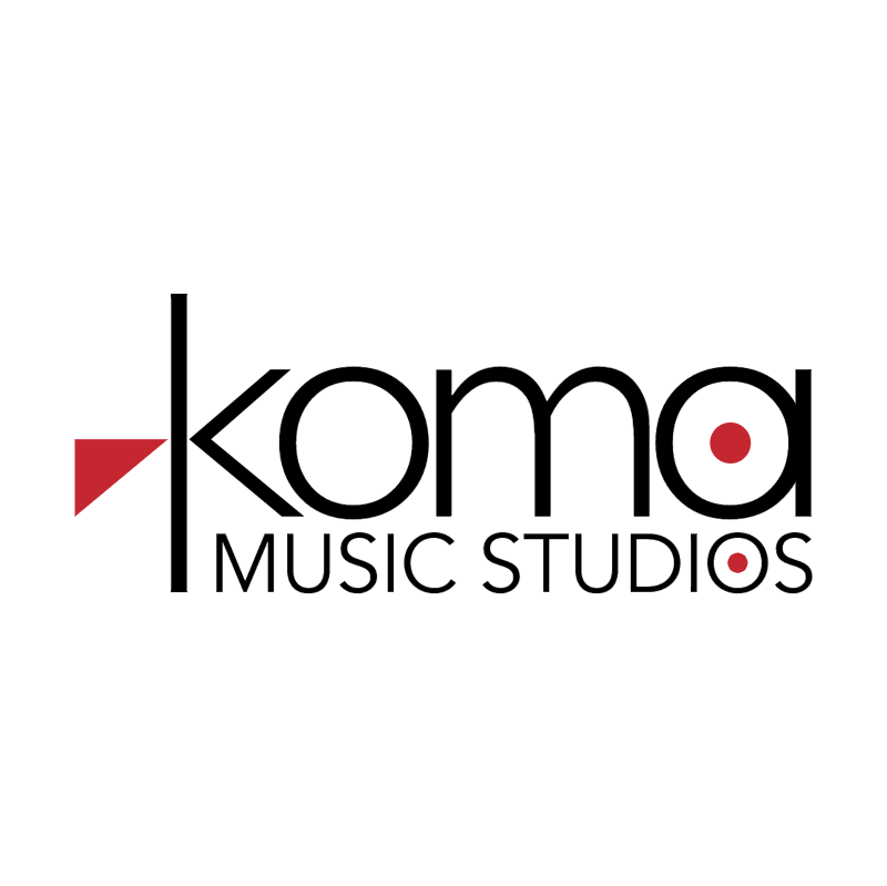 Koma Music Studios vector