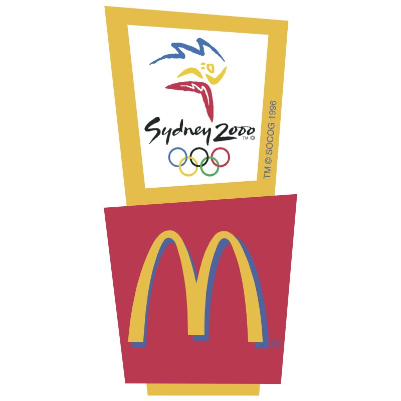 McDonald's Sponsor of Sydney 2000 vector