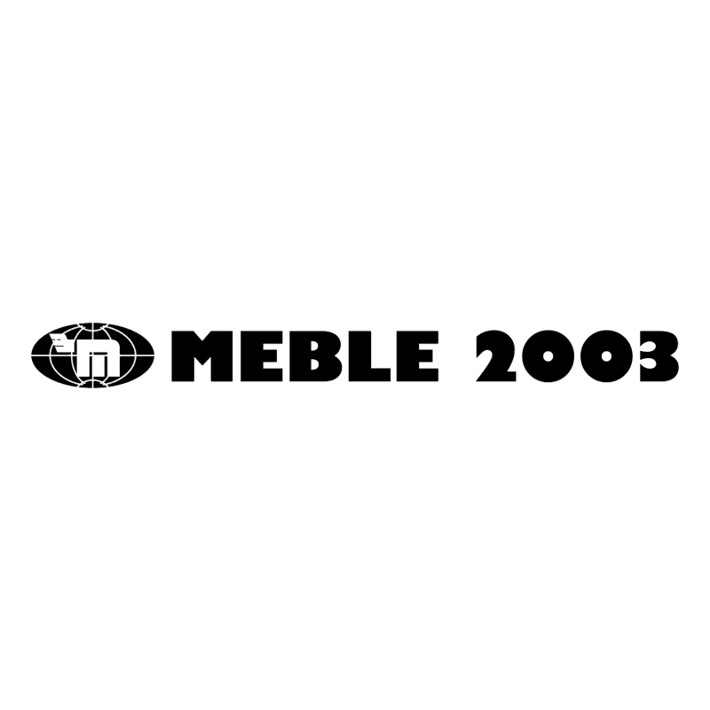 Meble 2003 vector