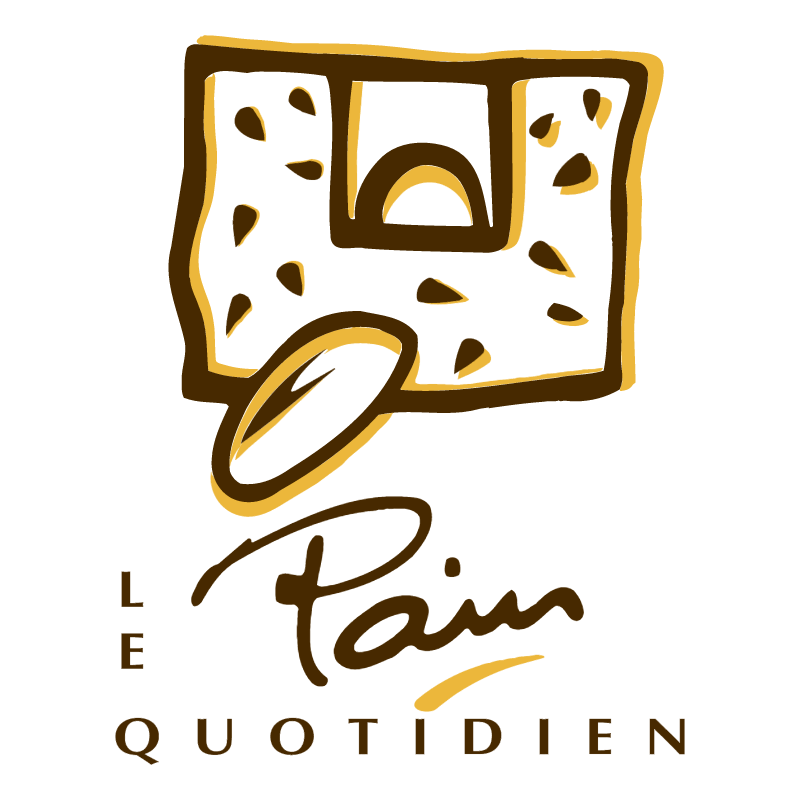 Pain le Quotidien vector
