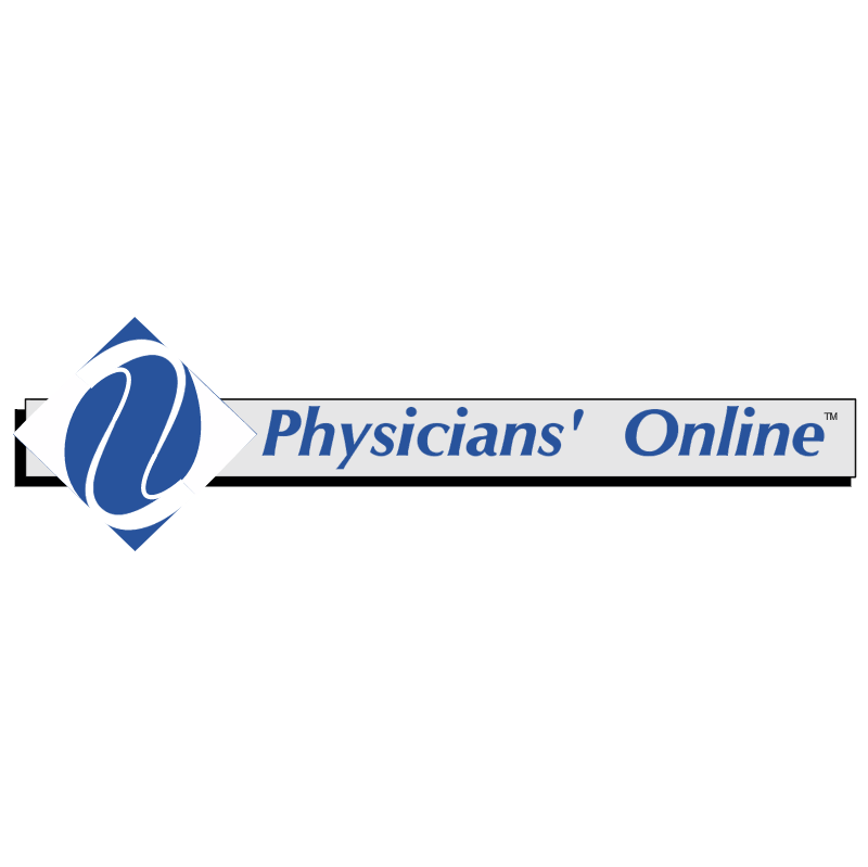 Physicians Online vector