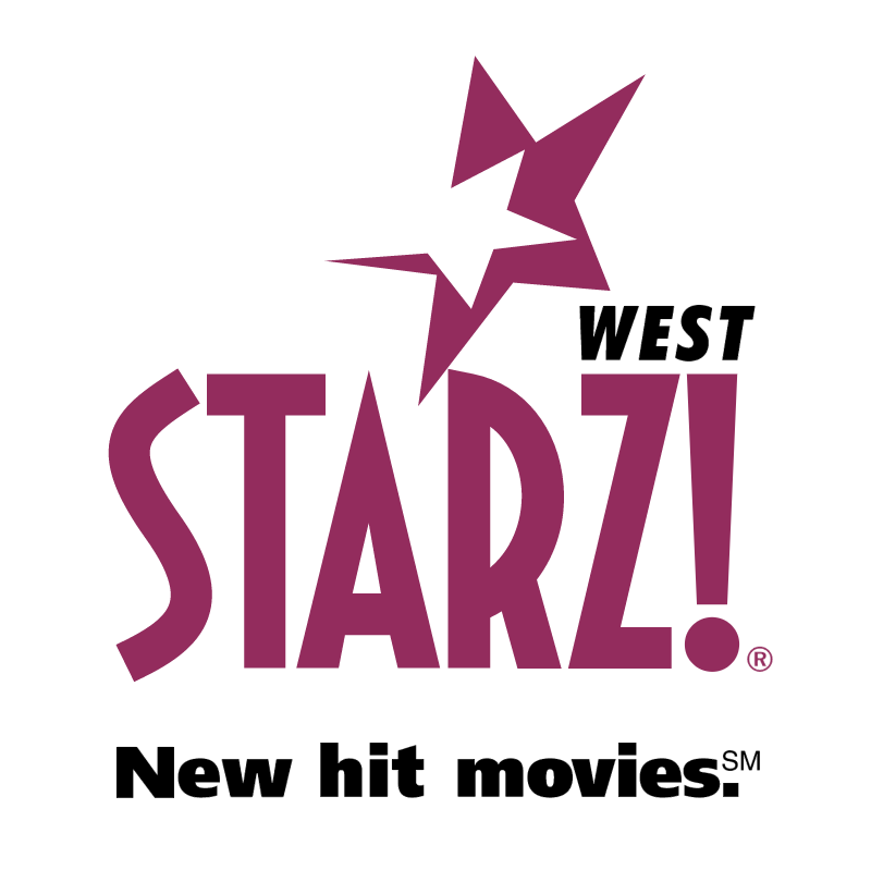 Starz! West vector logo